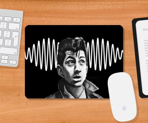 Alex Turner from Arctic Monkeys Mousepad | Artist : Aninya Gangal