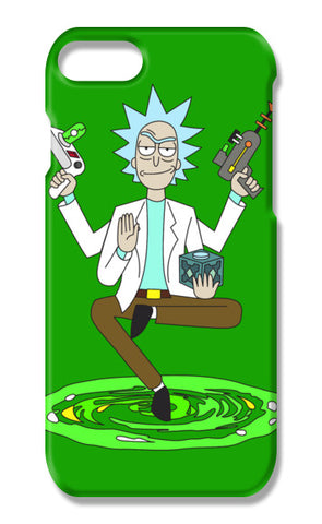 Hey Morty, lets get Schwifty iPhone 7 Cases | Artist : 8bitbaba