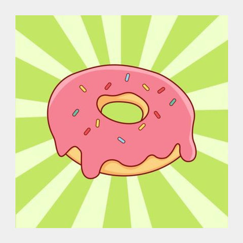 Donuts Square Art Prints PosterGully Specials