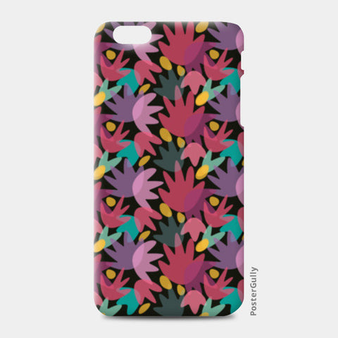 PINK FLORAL iPhone 6 Plus/6S Plus Cases | Artist : looshmoosh