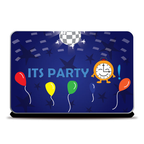 Laptop Skins, Its party time Laptop Skins | Artist : Anuj Goyal, - PosterGully