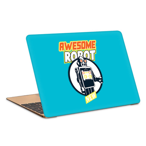 Awesome Robot Artwork Laptop Skin