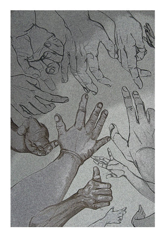hands for help Wall Art | Artist : amit kumar