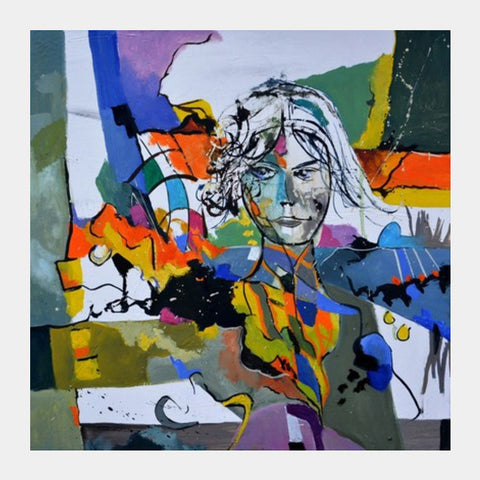 Abstract Portrait Square Art Prints PosterGully Specials