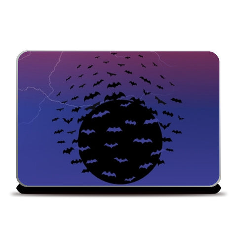 Deadly Bats Laptop Skins | Artist : Tiny Dots