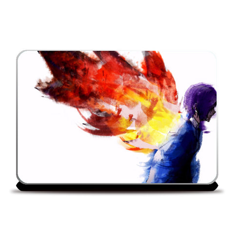 Laptop Skins, Watercolor Tokyo Ghoul Laptop Skin | Rahul Trivedi, - PosterGully