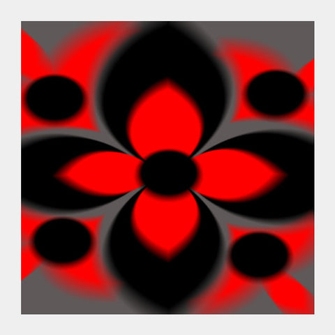 Abstract Flower Square Art Prints PosterGully Specials