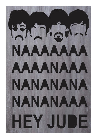 Wall Art, Beatles: Hey jude poster #rocklegends Wall Art | Artist : Gauri Deshpande, - PosterGully