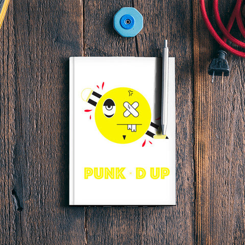 punked up Notebook | Artist : Shantanu Kumar
