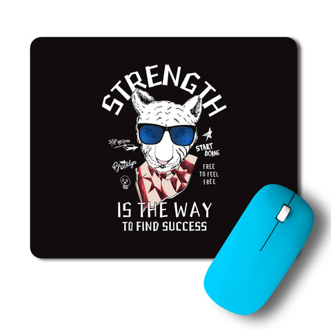 Cheetah Strength Is The Way To Find Success Intricate Artwork Mousepad