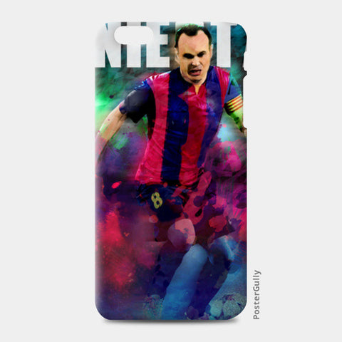 iniesta iPhone 6 Plus/6S Plus Cases | Artist : ASHUTOSH RAI