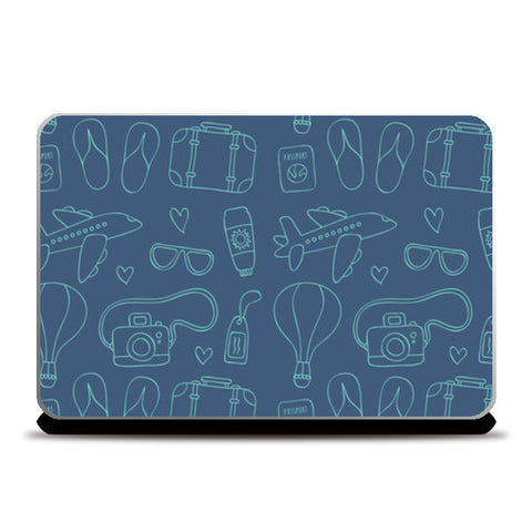 Sketchy Travel Laptop Skins | Artist : Colour me expressive | Special Deal - Size 13.3
