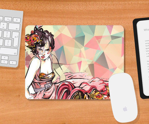 Mousepad, In Vogue Mousepad | Artist : Astha Mathur, - PosterGully