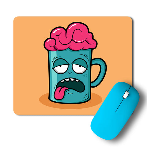 Tired Brain Artwork Mousepad