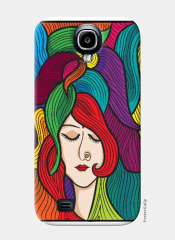 Samsung S4 Cases, Girl Samsung S4 Case | Artist: Dishant Bhatia, - PosterGully