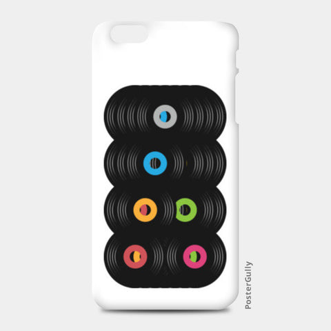 pop records iPhone 6 Plus/6S Plus Cases | Artist : Juergen Dsouza
