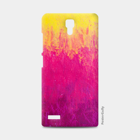 Yellow Pink Pastel Redmi Note Cases | Artist : Kanika Bardava
