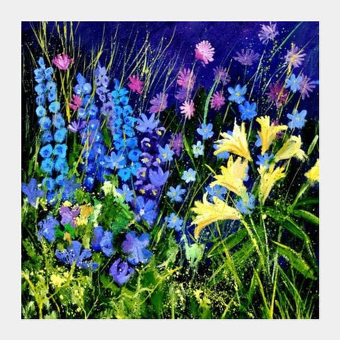 Garden Flowers 5631 Square Art Prints PosterGully Specials