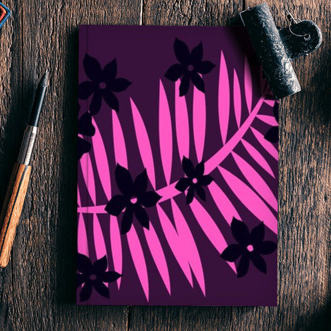 Purple  Notebook | Artist : pravesh mishra