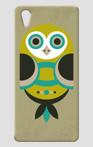 Unique geometric owl on dark One Plus X Cases | Artist : Designerchennai