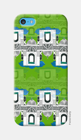 UPAR-NEECHE iPhone 5c Cases | Artist : Akanksha Kurakula