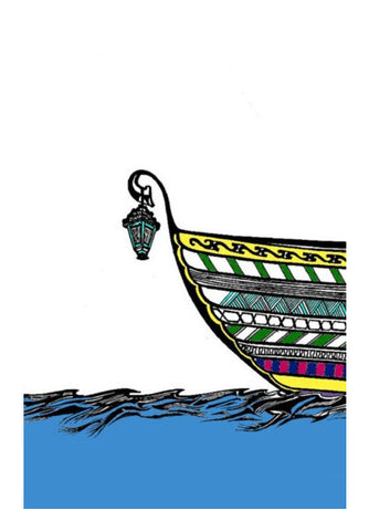 Wall Art, Boat in Sea Wall Art | Artist : Dr. Green, - PosterGully