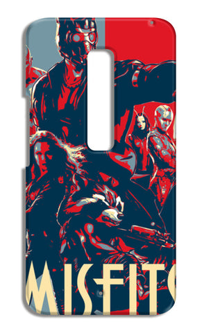 Guardians Of Galaxy Misfits Moto X Play Cases | Artist : LinearMan