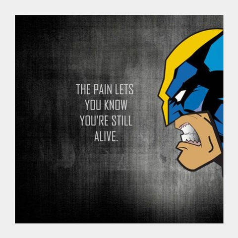 WOLVERINE Square Art Prints PosterGully Specials