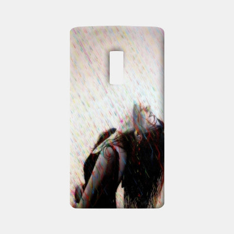 Girl in rain One Plus Two Cases | Artist : Chandramouli Sivanandham