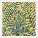 Square Art Prints, Satchidananda - Blissful Exprience of Pure Consciousness Square Art Prints | Artist : Luke's Art Voyage, - PosterGully