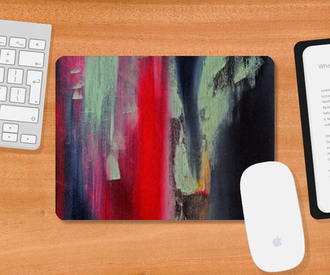 A bit of pop at your desk Mousepad | Artist : Anna Joseph Kurian