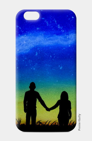 Sunset Love Painting iPhone 6/6S Cases | Artist : Rahul Tanwar