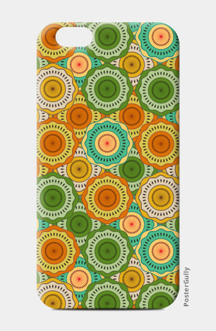 Seamless Floral Beautiful Mandala iPhone 6/6S Cases | Artist : Designerchennai