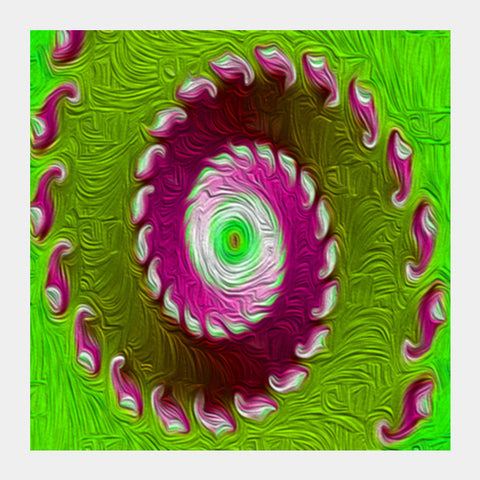 Square Art Prints, Fractal painting Square Art Prints | Artist : CK GANDHI, - PosterGully