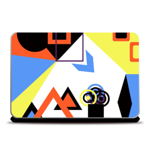 Laptop Skins, Abstract Geometric Laptop Skins | Artist : Aashna Dodhiwala, - PosterGully