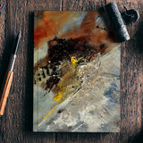 abstract 77555 Notebook | Artist : pol ledent