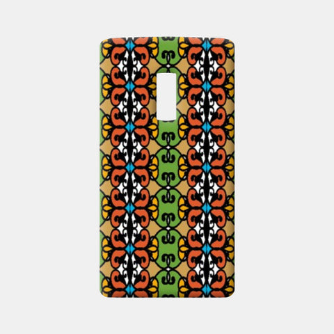 One Plus Two Cases, Colorful Tribal Vertical Pattern  One Plus Two Cases | Artist : Seema Hooda, - PosterGully