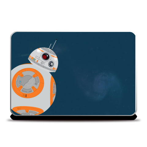 Star Wars BB-8 Droid Laptop Skins | Artist : safira mumtaz