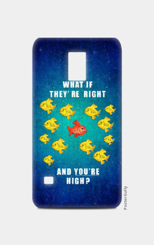 Samsung S5 Cases, You're High Samsung S5 Case | Abhishek Faujdar, - PosterGully