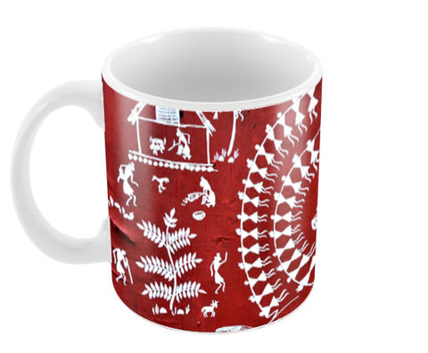 warli Coffee Mugs | Artist : Shalom  Design