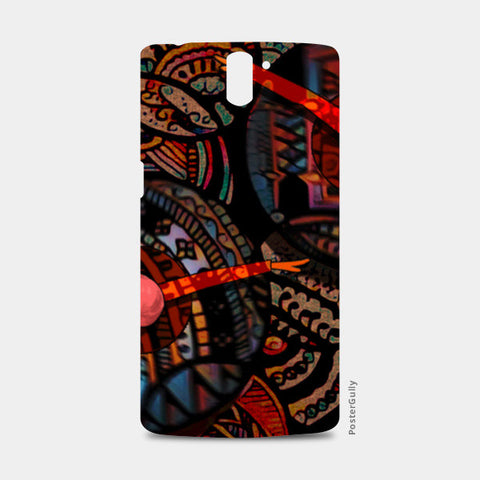 Dancing with colors One Plus One Cases | Artist : Karthik Gowrisankar