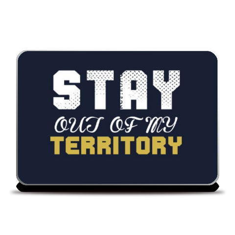 Laptop Skins, Stay out of my territory Laptop Skin | Artist: Prashant Negi, - PosterGully