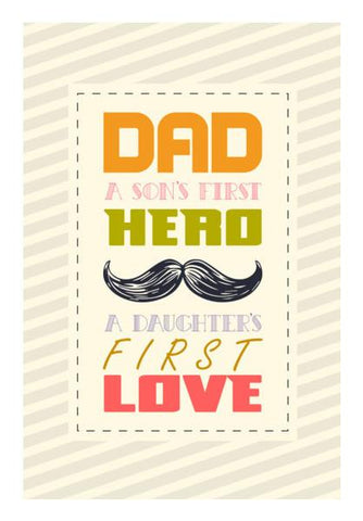 PosterGully Specials, Father Best Advise Wall Art | Artist : Designerchennai, - PosterGully