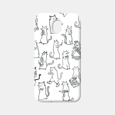 Moto G3 Cases, Cats All Around Moto G3 Cases | Artist : Aditya Golechha, - PosterGully