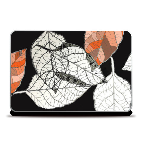 Laptop Skins, leaves Laptop Skins | Artist : Vanya Verma, - PosterGully