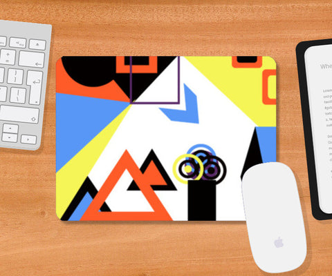 Mousepad, Abstract Geometric Mousepad | Artist : Aashna Dodhiwala, - PosterGully