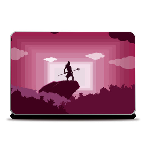 shiva the destroyer Laptop Skins | Artist : Aayush Ranjan