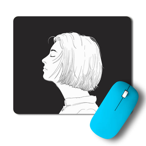 Calm Face Artwork Mousepad