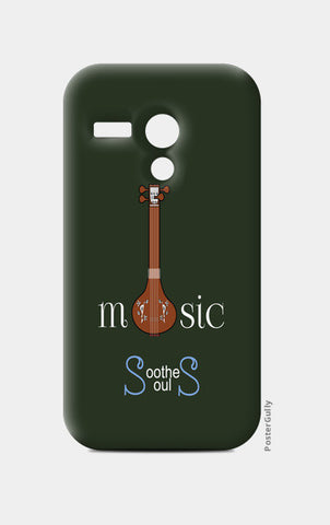 Moto G Cases, Music Soothes Souls Moto G Cases | Artist : Sri Arts, - PosterGully