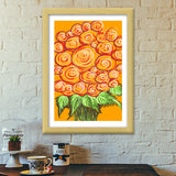 Premium Italian Wooden Frames, Swirls and flowers ! Premium Italian Wooden Frames | Artist : Shakthi Hari, - PosterGully - 5
